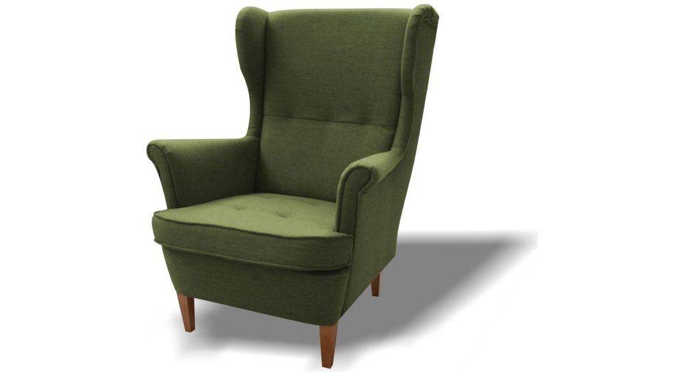 Green Armchair Similar To Ikea S Strandmon But Lighter Color Green Armchair Ikea Armchair Armchair