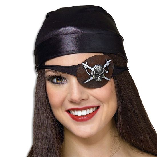 Check Out This Molded Skull Eyepatch At Purepirate