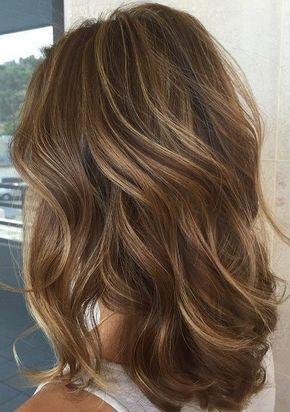 Lowlights Und Highlights Fur Braun Haar Fur 2017 Smart Frisuren Fur