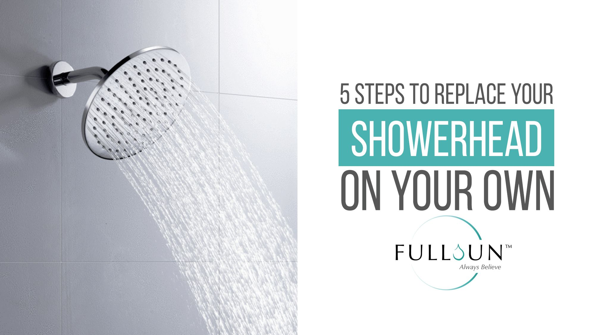 Here Are The Step By Step Instructions On How To Fit A New Shower