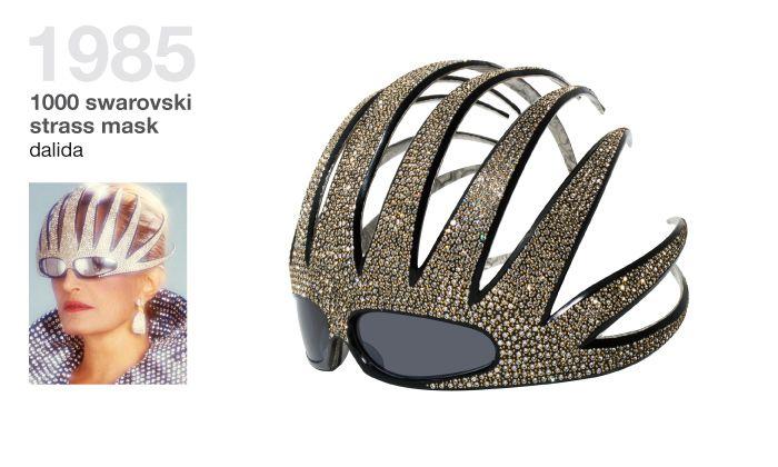 0c9b5ca78d0a LOL! Alain Mikli swarovski glasses mask from 1985. Pretty awesome ...