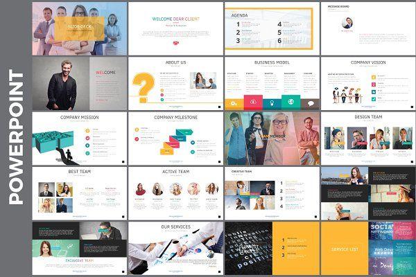 Startup Slide Deck Startups Decking And Project Presentation - Startup slide deck template