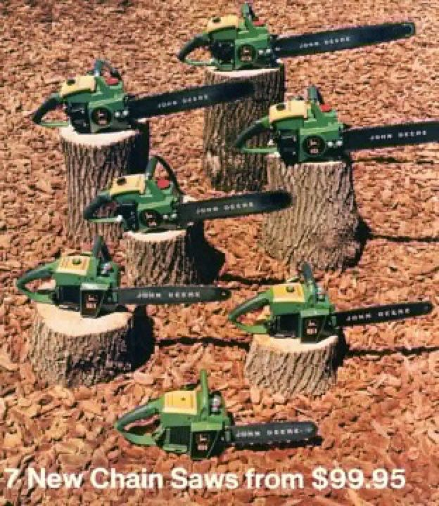 Tractor Supply Chainsaws : John deere chainsaws ad stuff pinterest