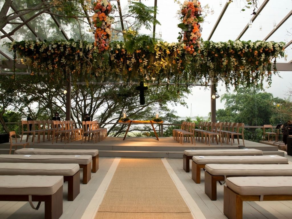 Centros de mesa com frutas dão frescor e originalidade à recepção - Casamento - UOL Mulher