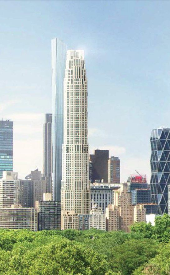 New Rendering Confirms Design For 220 Central Park South New