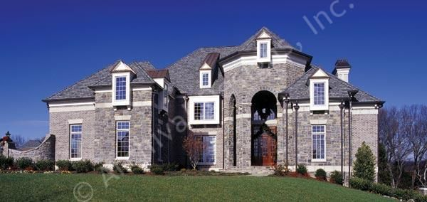 Pontarion II House Plan Luxury House Plans Family Home Plans