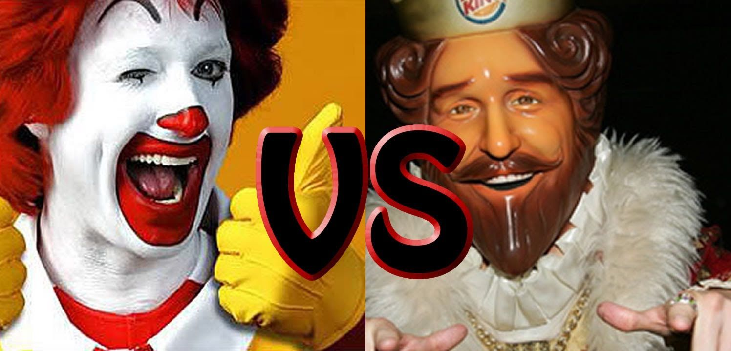 b325c09c Ronald McDonald vs The Burger King Epic Rap Battles | Trippin' Rap ...
