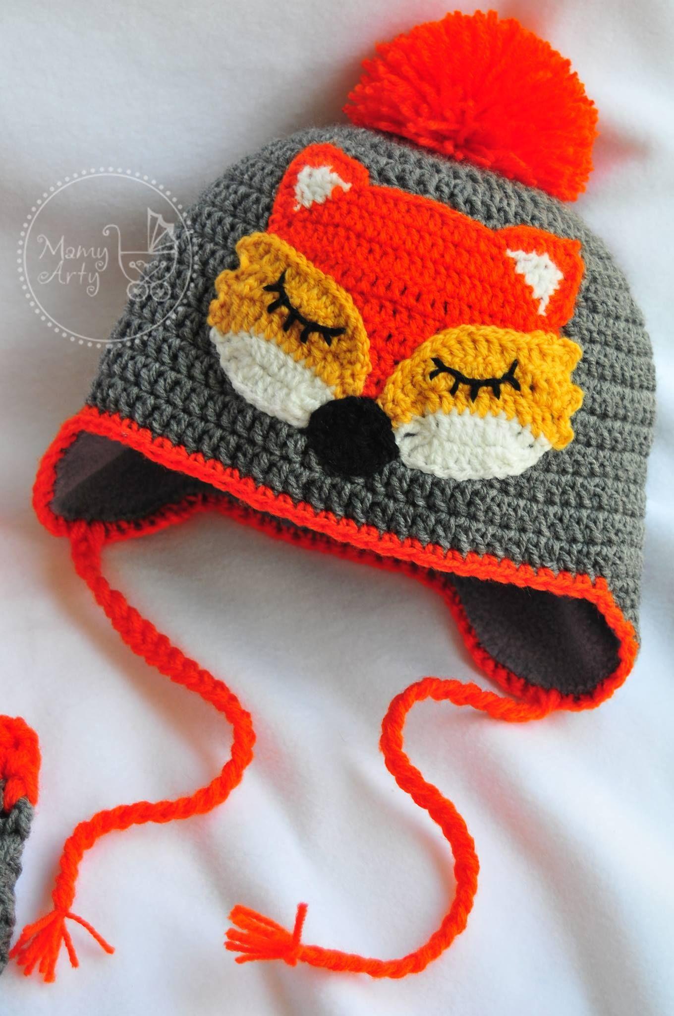 Pin von Tatiana Daia auf Hats | Pinterest | Gestrickte mützen, Baby ...