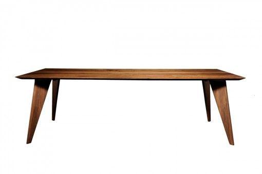 Eetkamertafel moonshadow een prachtige moderne houten tafel