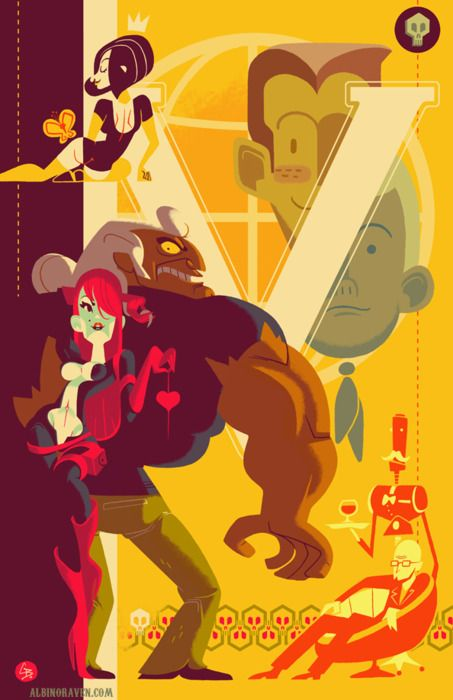 The Venture Brothers Illustration Cartoon Art Art