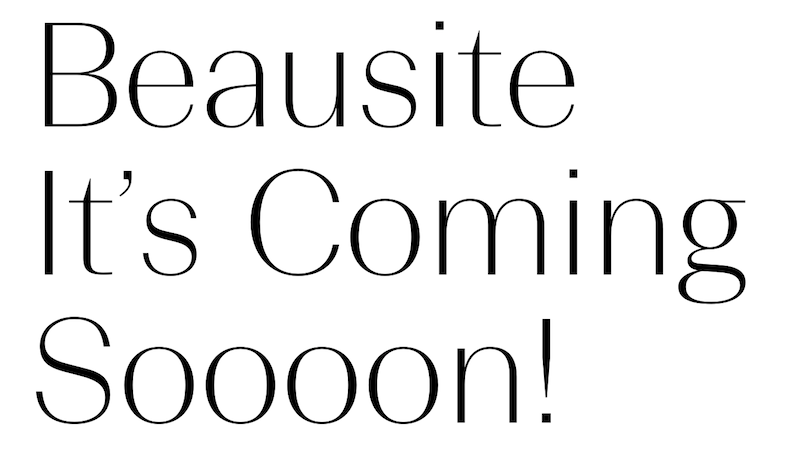 Beausite. font from Fatype. Reminds me a bit of