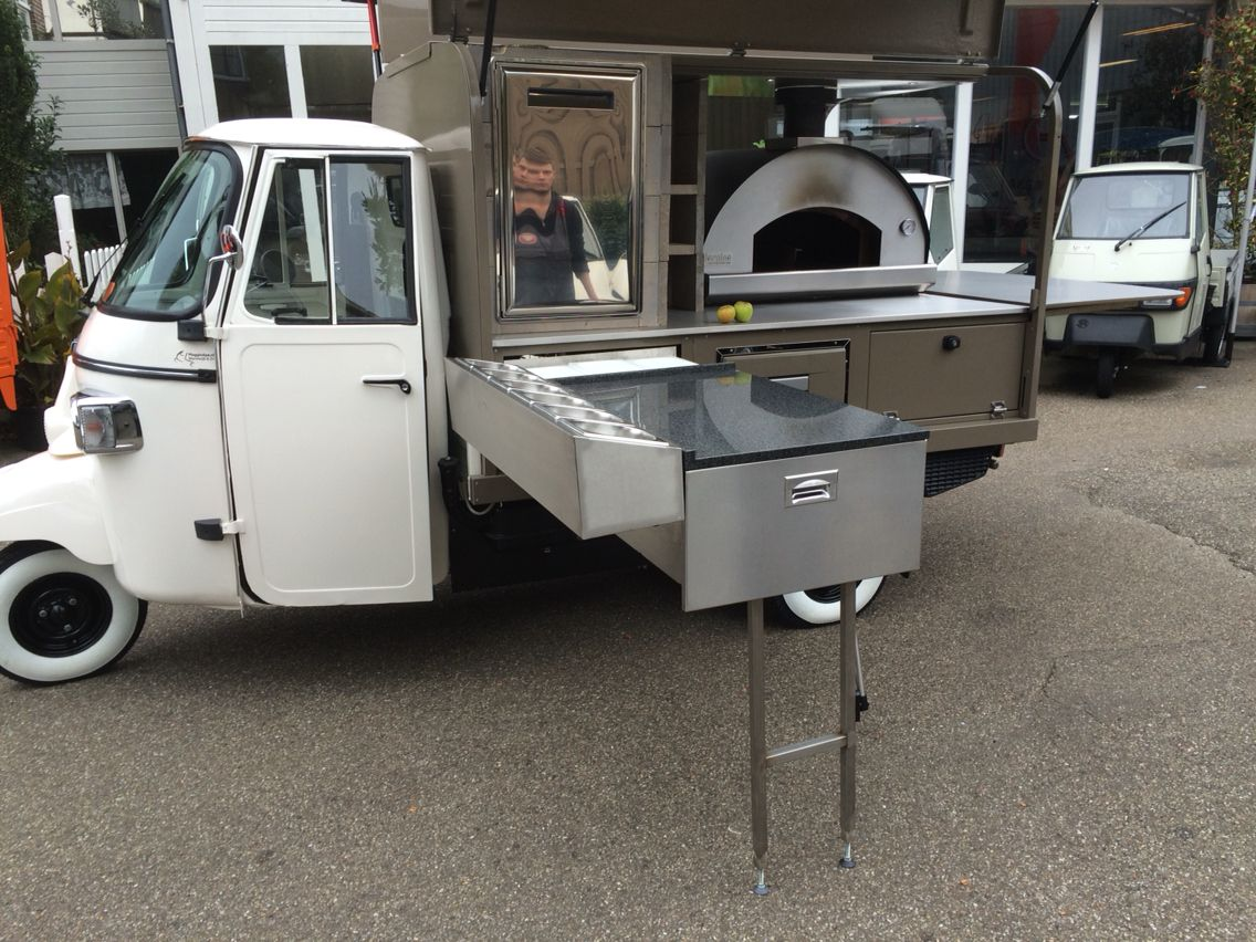 6cc1a0f979bfc8 Pizza Piaggio ape made in Holland