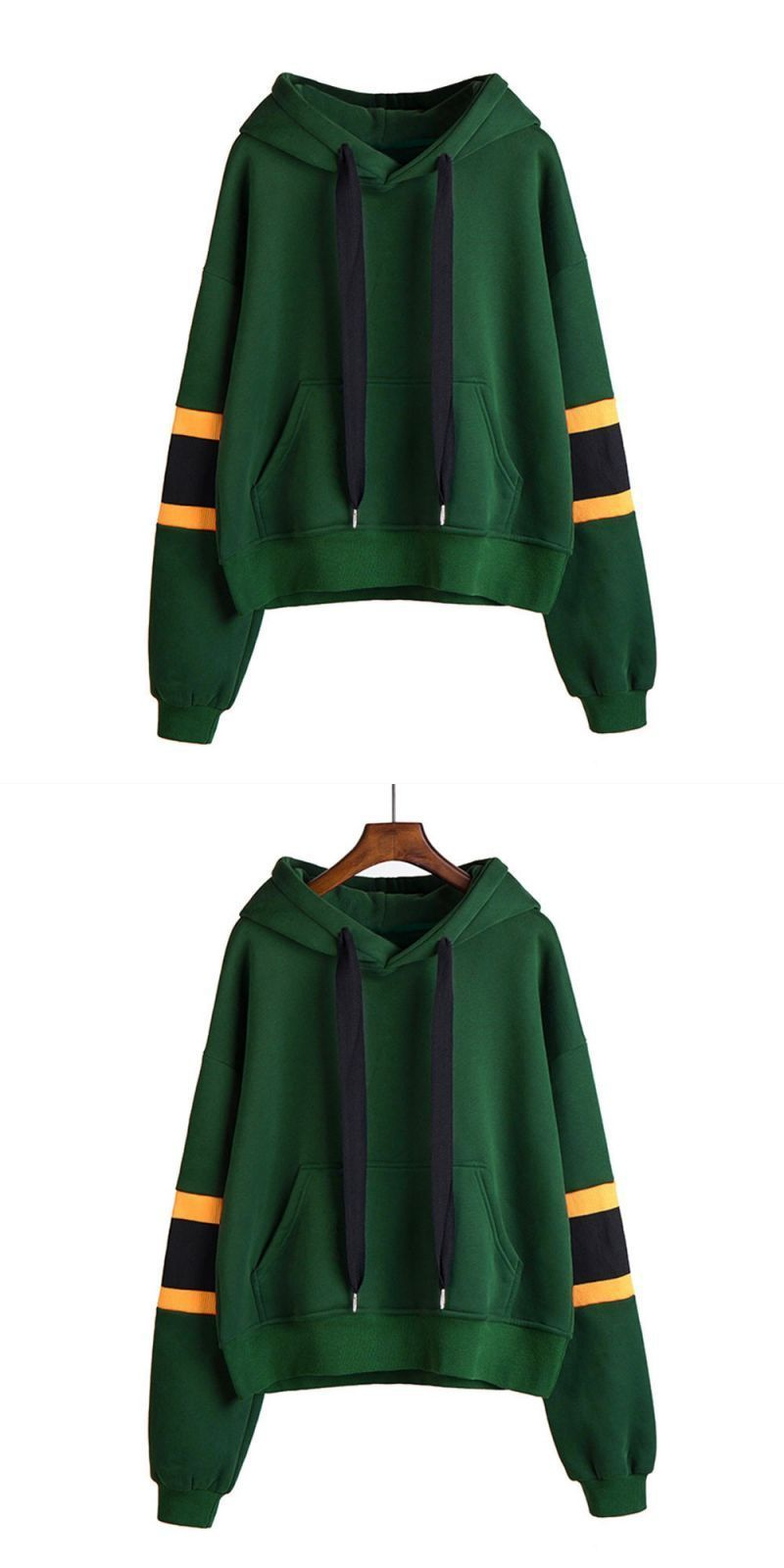 f186a67b Bts striped hoodies harajuku new fashion green autumn winner womens long  sleeve hoodie sweatshirt hooded pullover