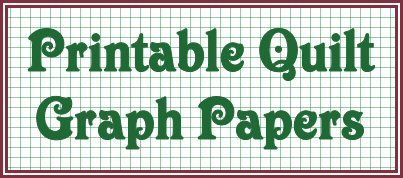 Designing Your Quilt - Printable Quilt Graph Paper ~ Squares, Angles, Circles