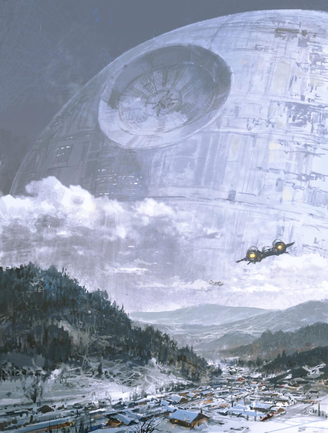 Pingl par bla sur paysage star wars tim e et vaisseau - Paysage star wars ...