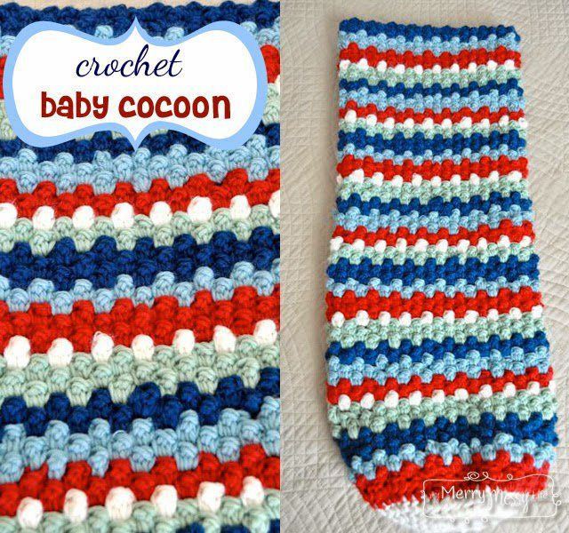 20+ Striped Crochet Patterns {Free Crochet Patterns} - Daisy Cottage Designs