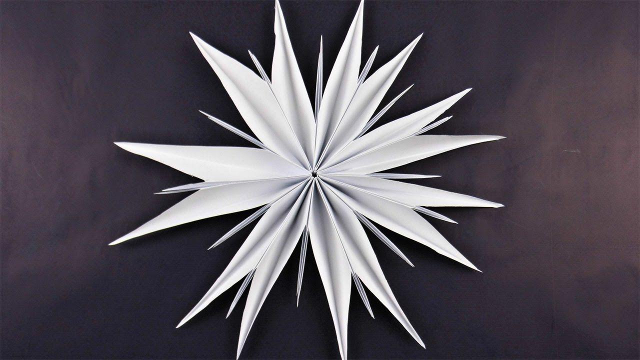 Stern Aus Kopierpapier Basteln Deko Ideen Mit Flora-Shop