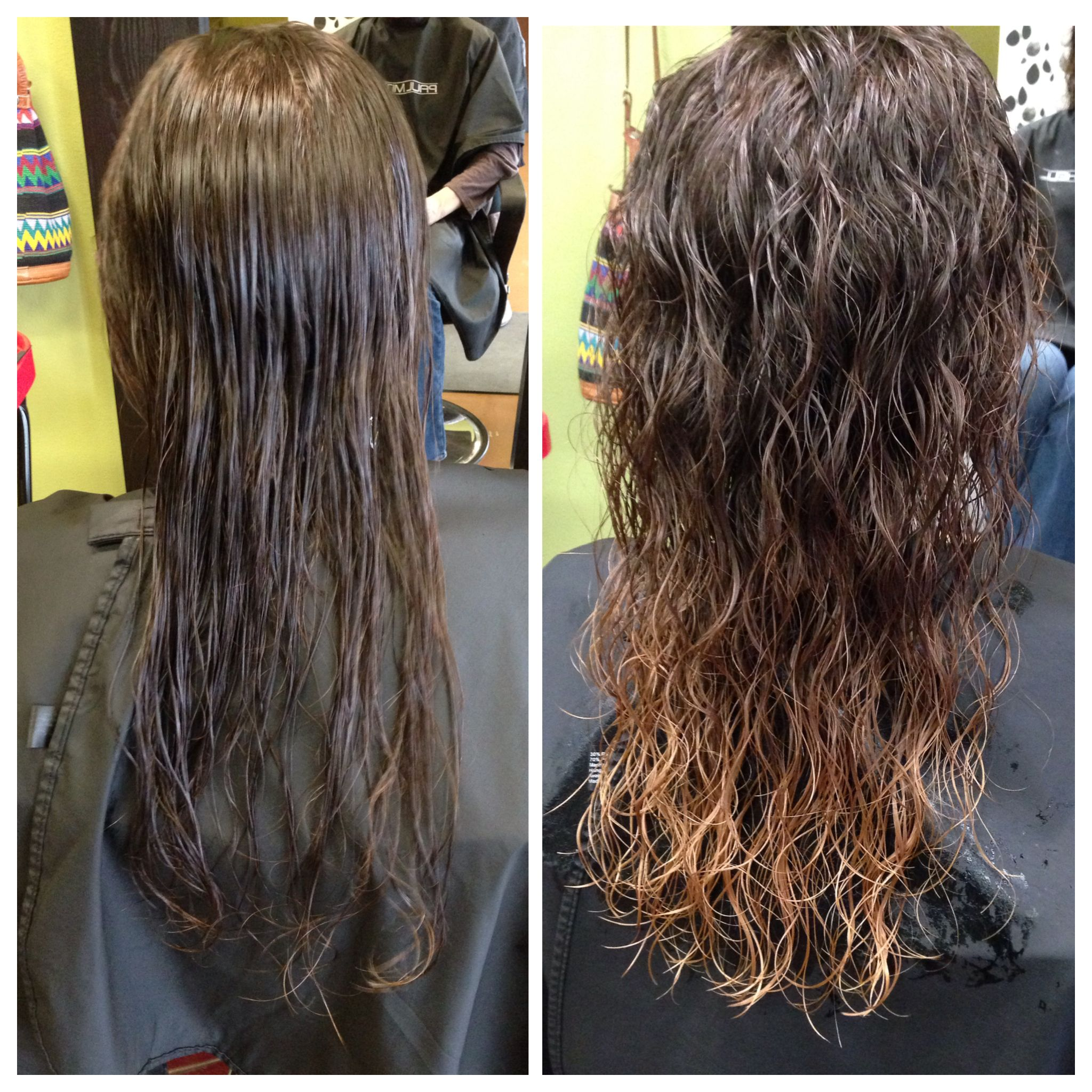 perm and color same day with olaplex #potionssalon # ...