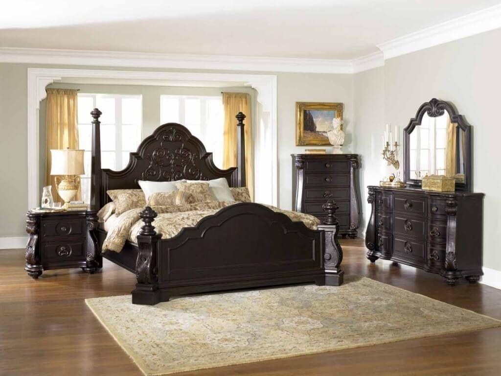 King Bedroom Furniture Sets Black King Bedroom