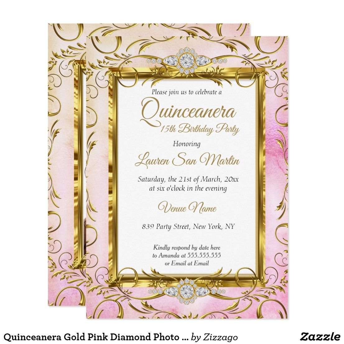 400+ Best Quinceañera Invitations and Ideas images | quinceanera invitations,  quinceanera, invitations