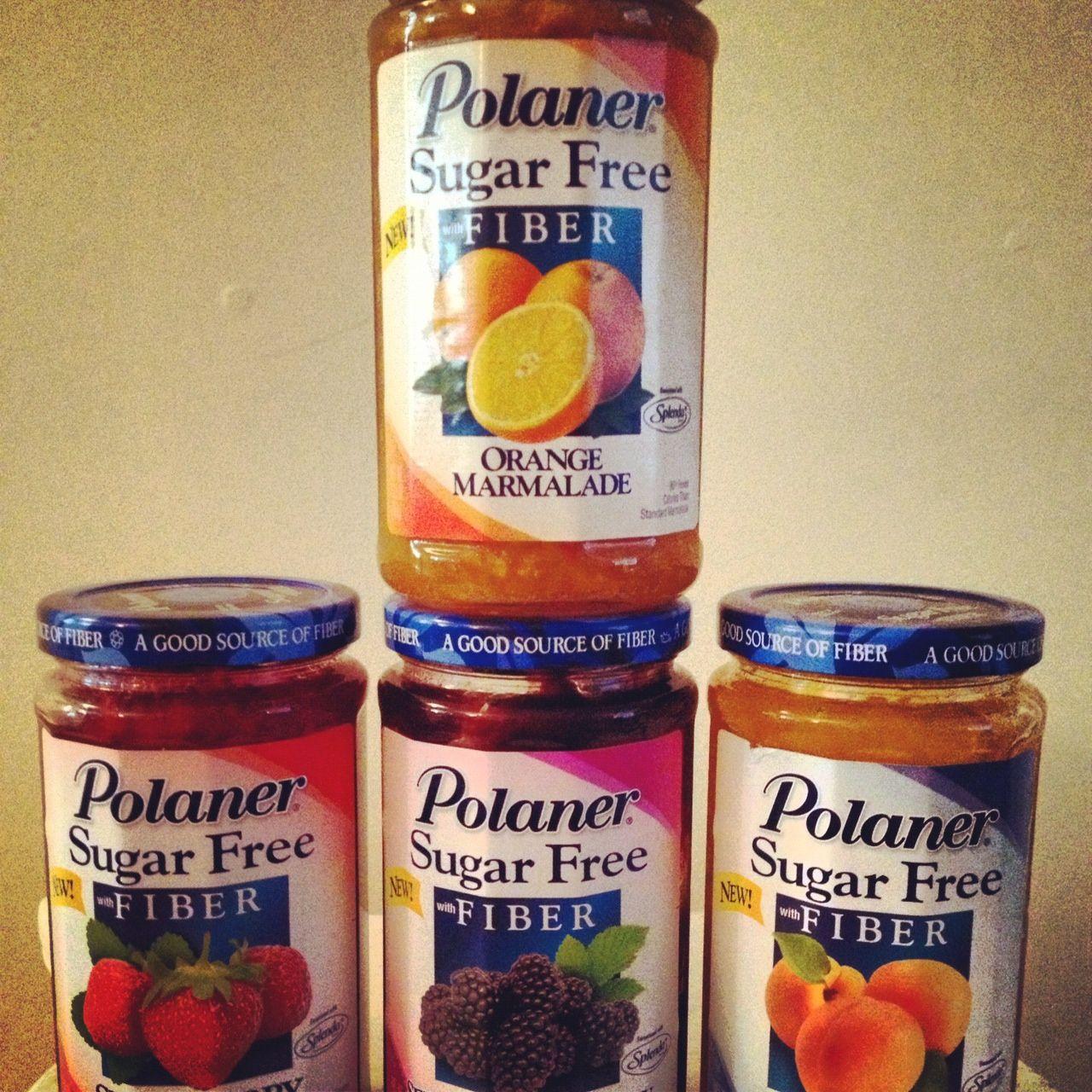 Jam Zeke: Polaner Sugar-Free High Fiber Jam. Great Alternative To