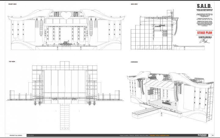 Martin Hruska Stage Set Design Concert Stage Design Stage Design