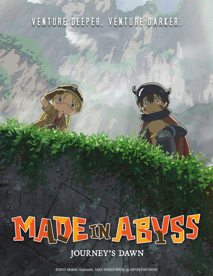 Made In Abyss Is Coming To Theaters Coming To Theaters Abyss Anime Anime Wall Art