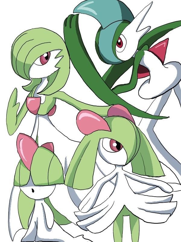Ralts evolution coloured by sailormuffin on DeviantArt ...