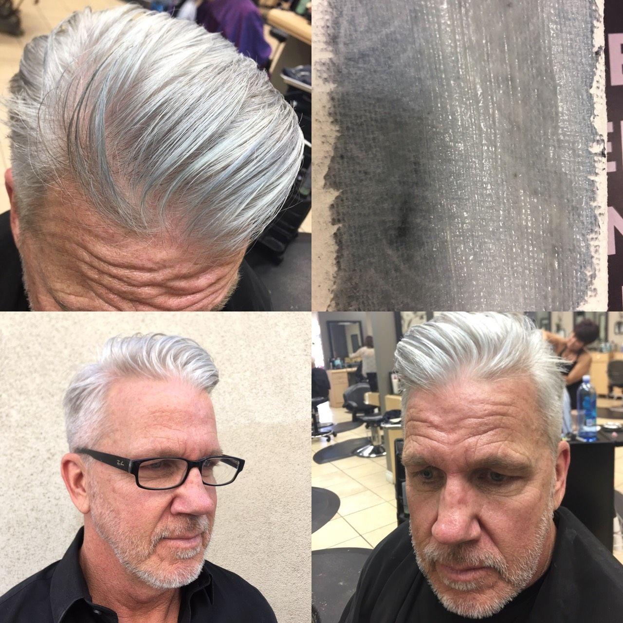 Gray Hair Color For Men Looks Natural By Martin Rodriguez Men
