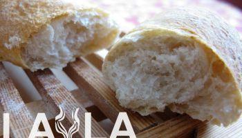Pan blanco en barra