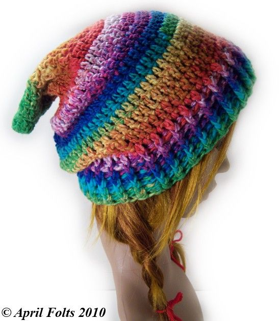 Fantasy Fae Slouch Hat P A T T E R N by AprilDraven on Etsy, $3.00