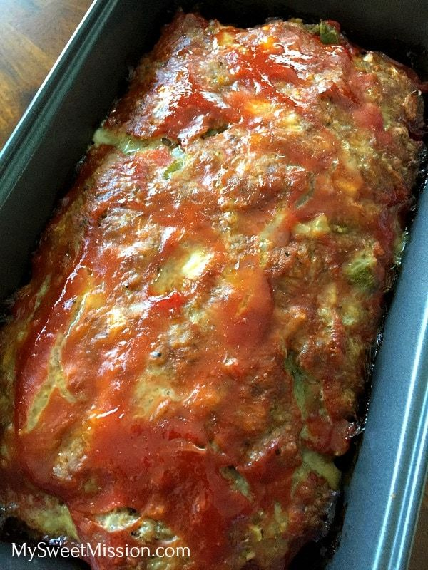 Amazing Meatloaf #greenpeppers