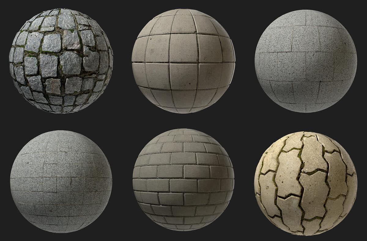 Free PBR Textures From Sergei Kushnir | Free textures, Texture, Pbr