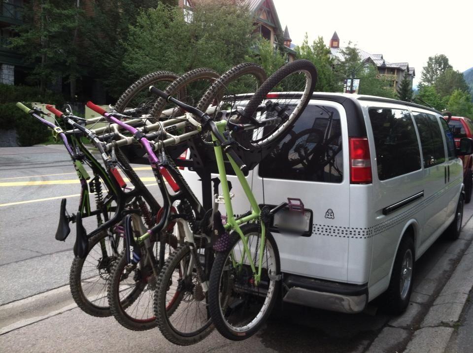 Custom Made Bike Rack For 4x4 Vans Moab Google Search