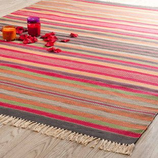 teppich bunt gestreift agadir 200x140 tapis pinterest salons. Black Bedroom Furniture Sets. Home Design Ideas