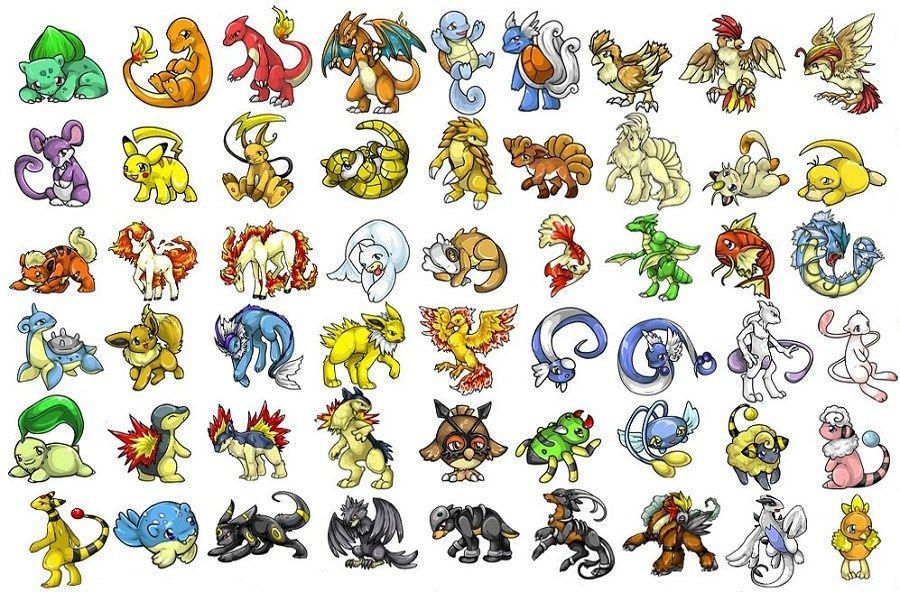Coloriage Pokemon (Dessins de Pikachu, Sacha, Bulbizarre ...