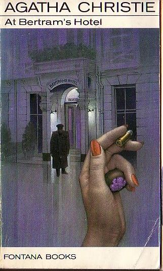 Agatha Christie AT BERTRAM'S HOTEL<BR>  . .Fontana rpt.1972 front cover image