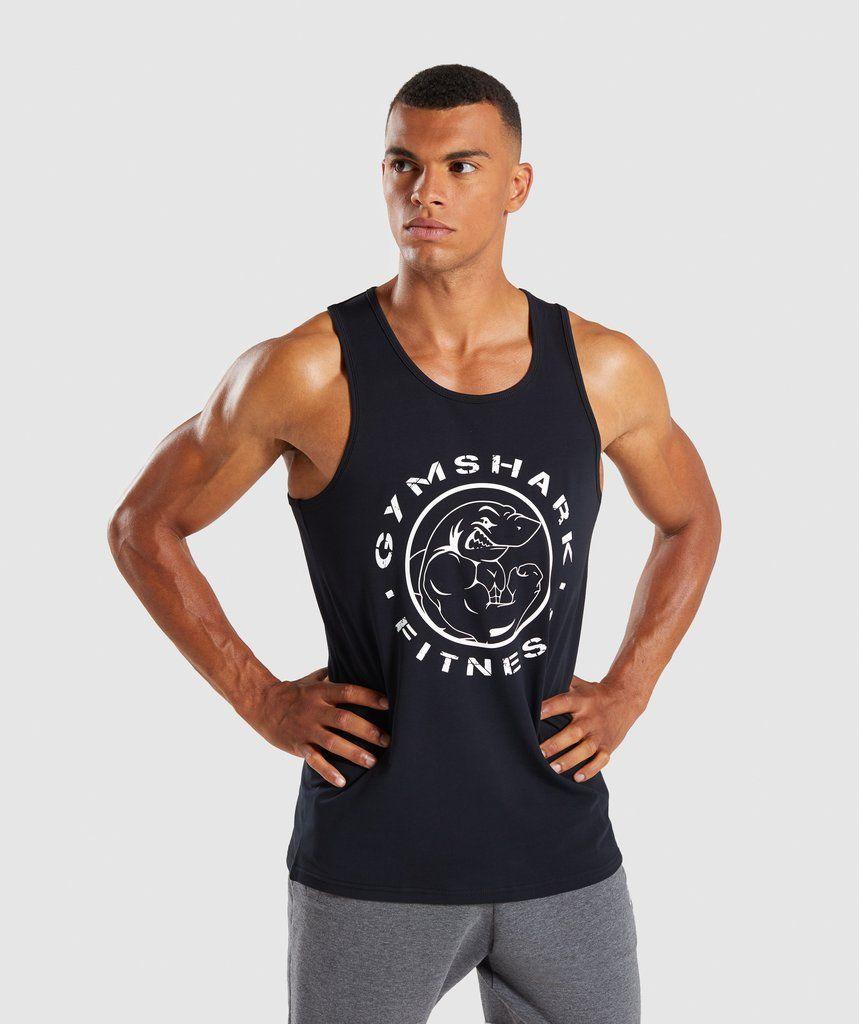 69201d41a94f0 Gymshark Legacy Tank - Black 1 | Mens fashion in 2019 | Bodybuilding ...