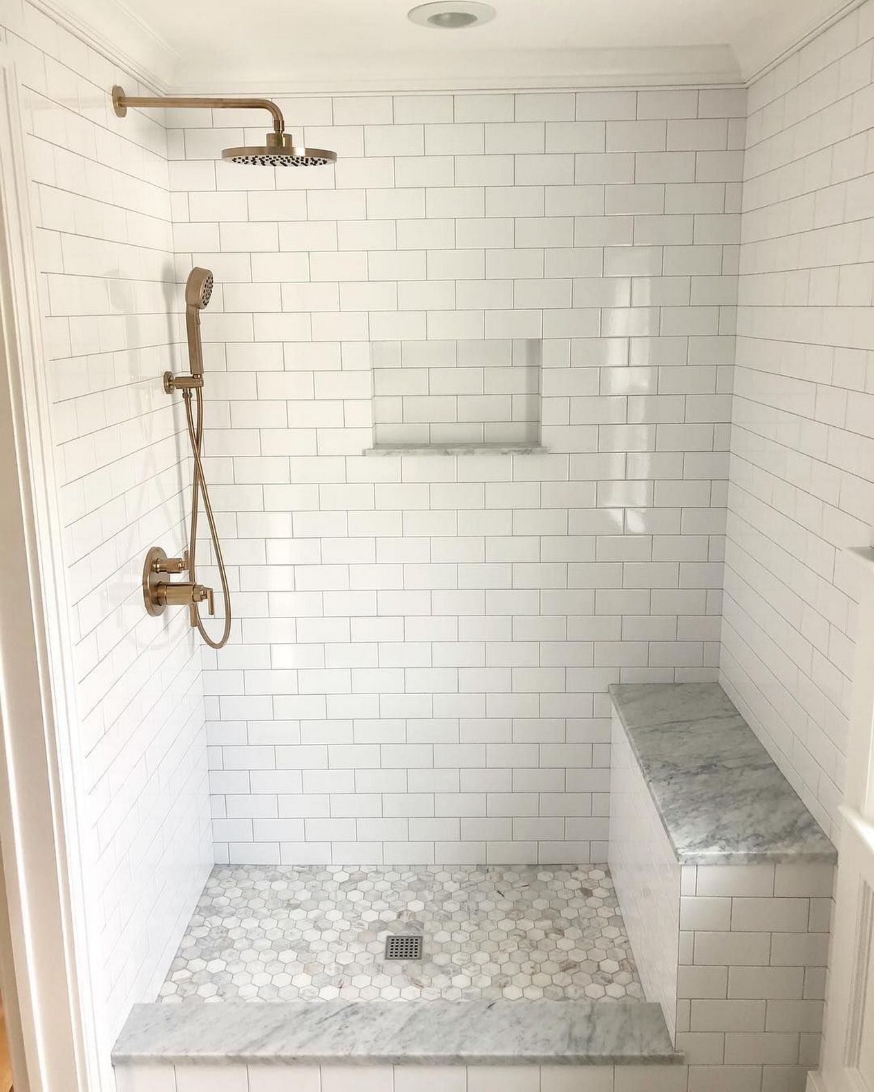 20 Amazing Bathroom Design Ideas Here Are 7 Key Guides To Getting A Walkin Shower 13 Master Bathroom Shower Shower Remodel Bathroom Remodel Shower