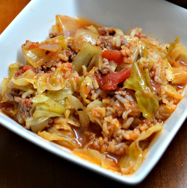 A Kitchen That Brings It All Together In Blackburn: This Easy Cabbage Roll Skillet Brings All Those Wonderful