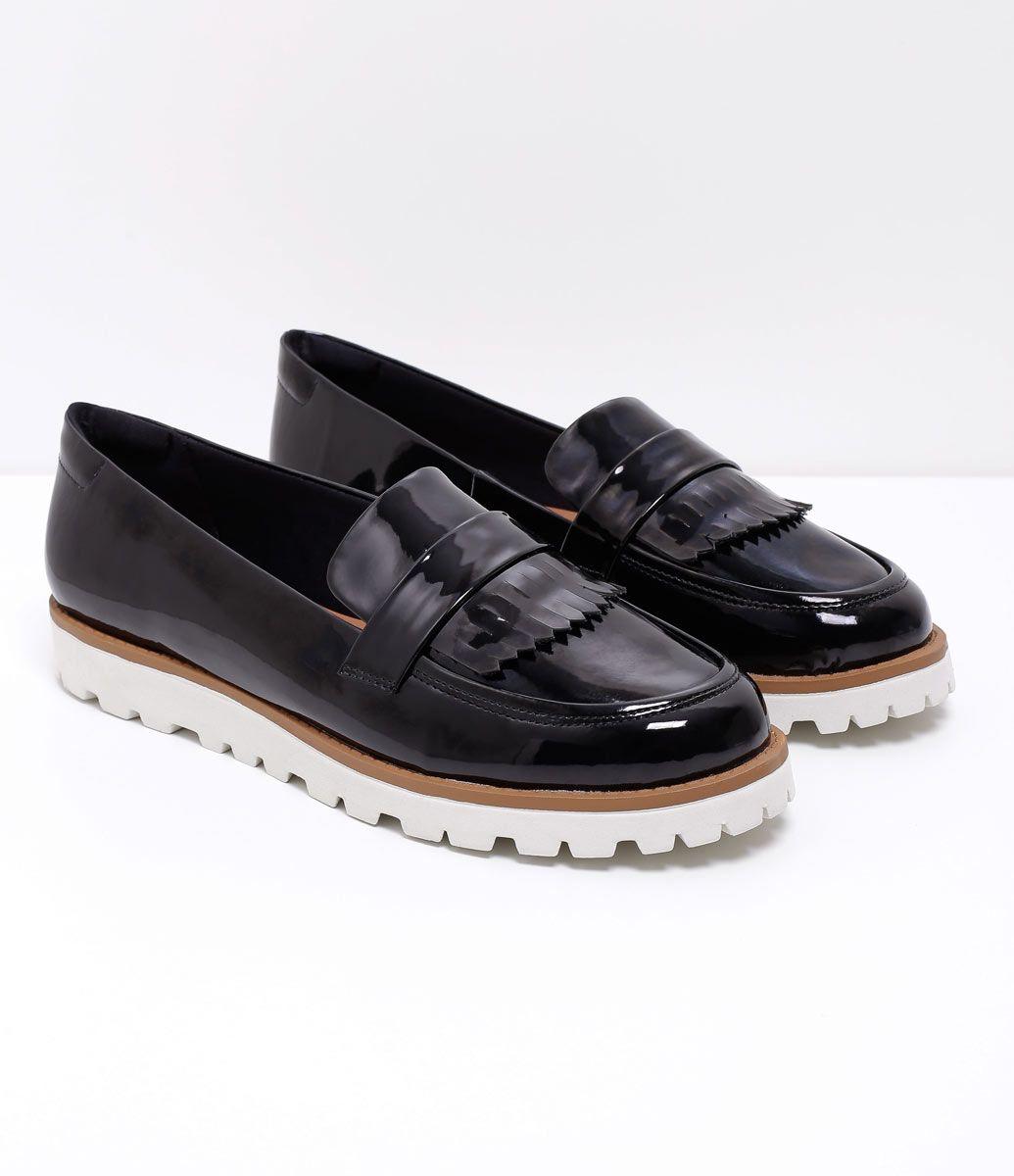 81d53f3a7 Sapato feminino Material: sintético Com franjas   shoes ♥   Sapatos ...