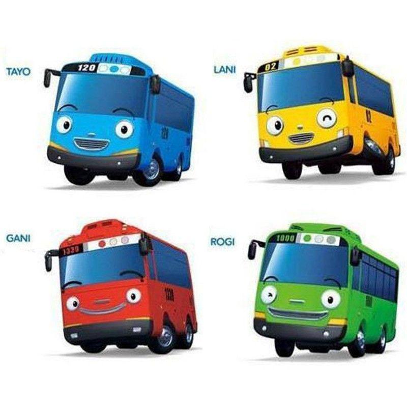 the little bus tayo mini diecast metal toy set tayo rogi