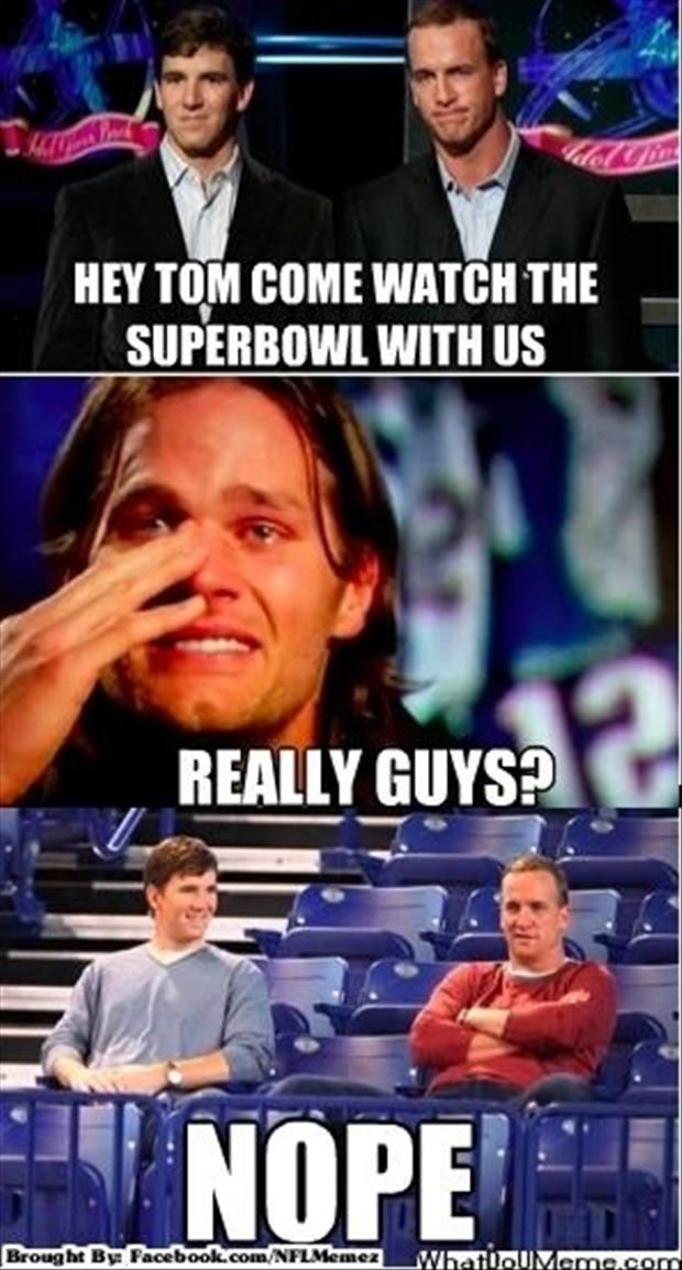 A Tom Brady Eli Manning Payton Manning Funny Pictures