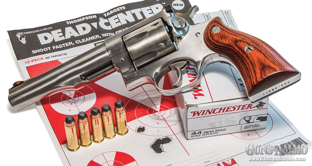 Ruger Redhawk Revolver Review - Guns & Ammo #gunsammo