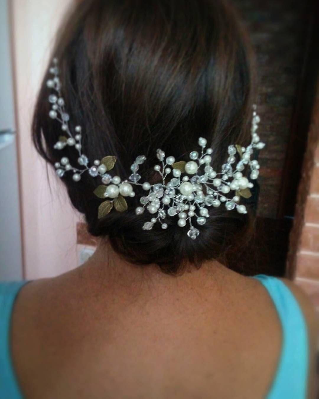Bridal Headpiece, Wedding Hair Vine, Bridal Hair Vine ...