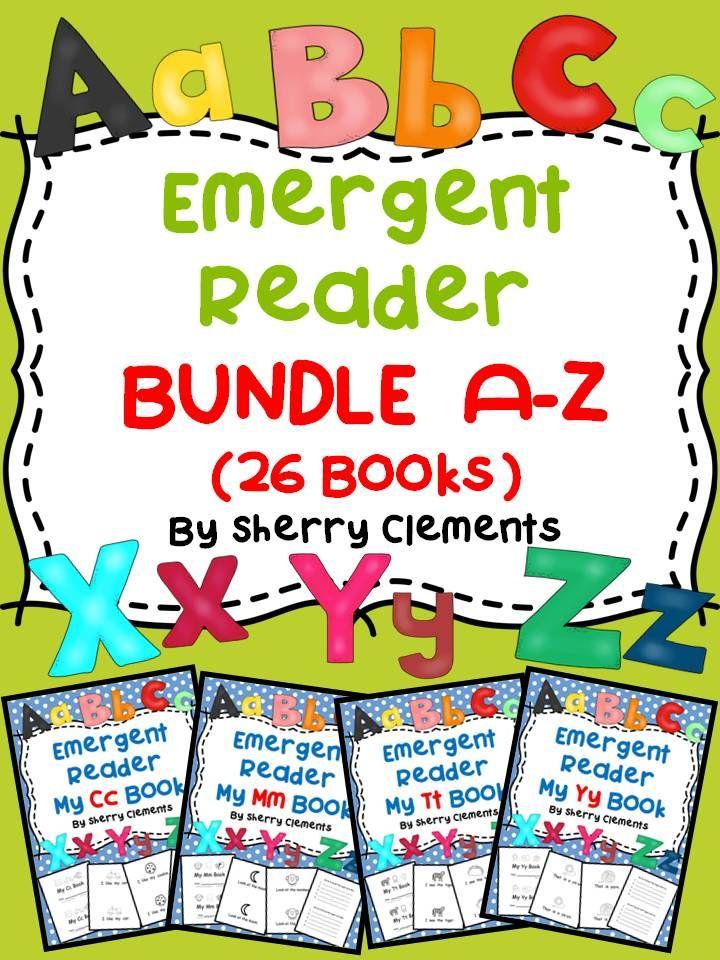Letters A-Z Emergent Reader Bundle (26 books)   Kind