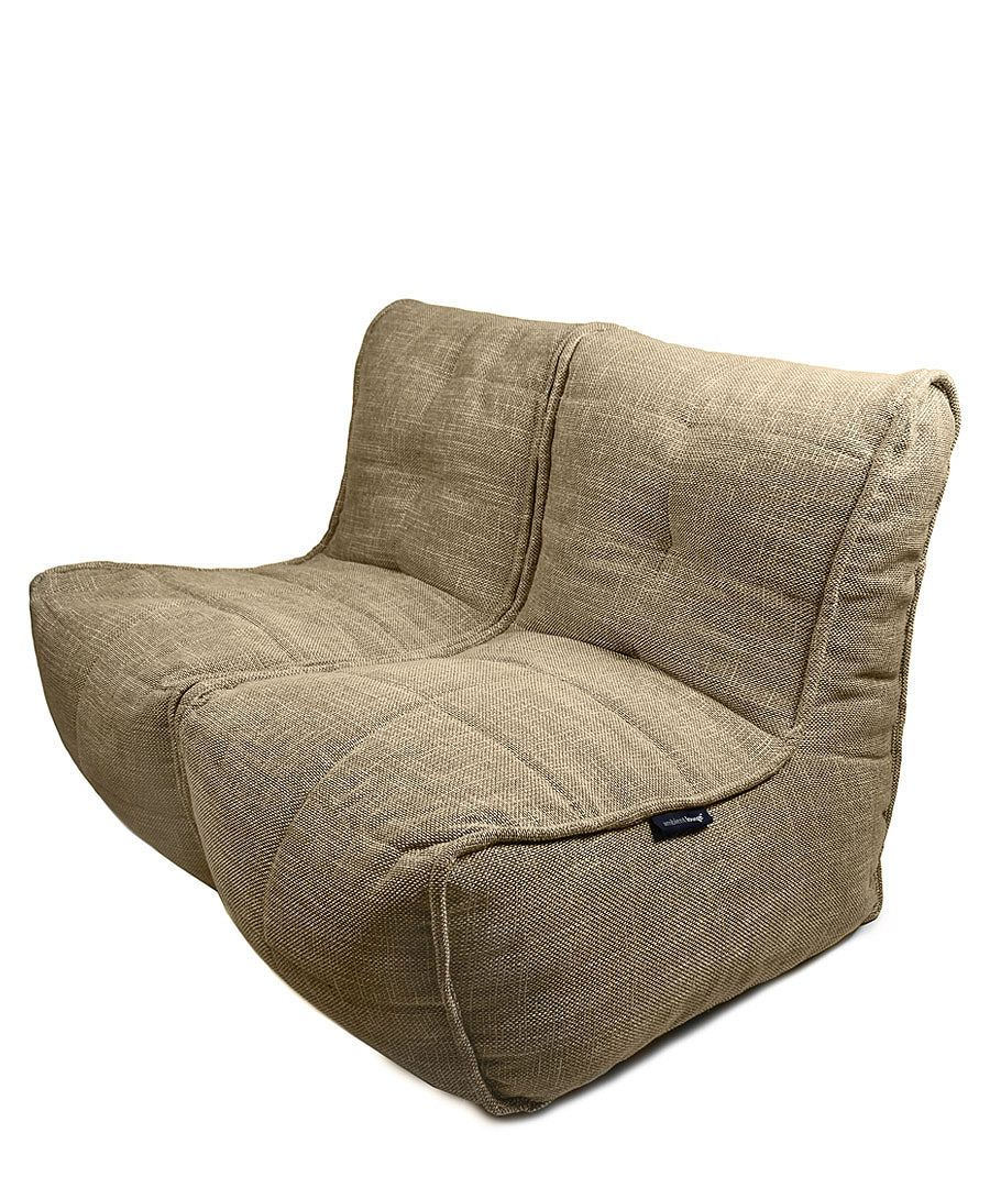 The Jute Chair Bean Bag Chair Allows You To Sit Low And Comfortably On A  Large Seat Panel Whilst Enjoying The Excellent Back Support You Would  Associate ...