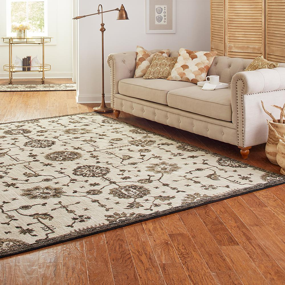 Black And White Rugs And Home Accents Are All The Rage For Fall Shop The Lifeproof Mallory Ar Area Rug Sizes Transitional Area Rugs Modern Contemporary Design