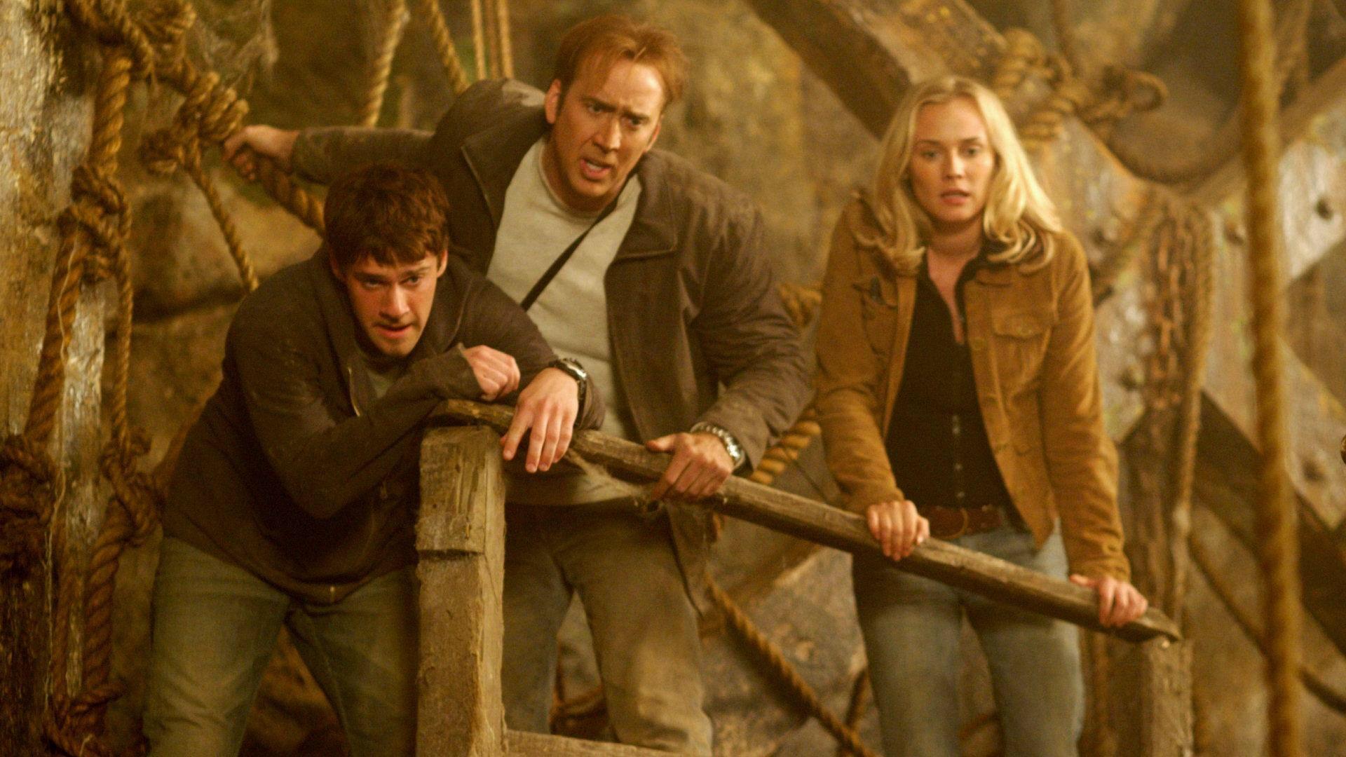 Riley, Ben and Abigail Nicolas Cage, Fantasy Movies, Disney Movies, Disney  Live