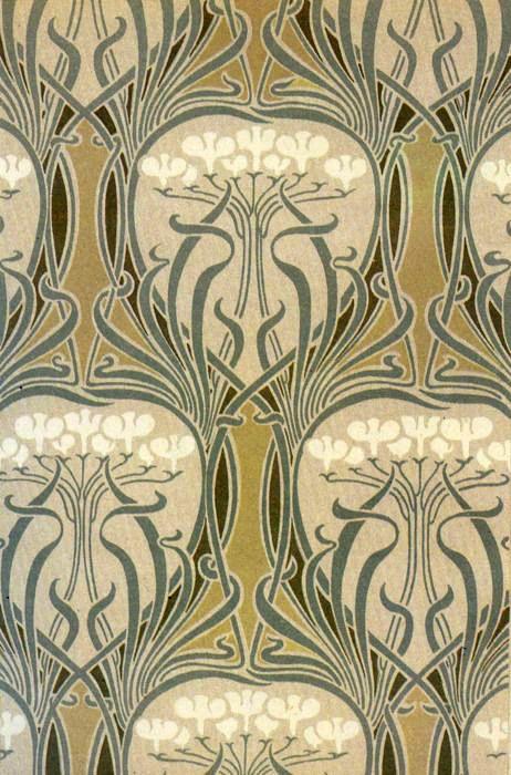 Art Nouveau Illustration Motif Art Nouveau Illustration Art